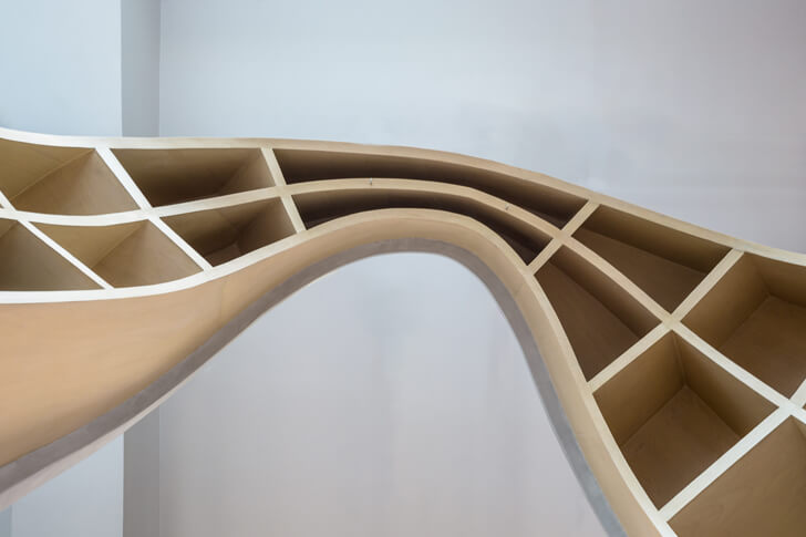 """apex of curve Office Creative Designer Architects indiaartndesign"""