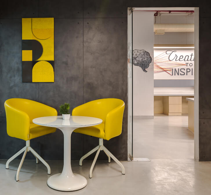 """burst of colour Office Creative Designer Architects indiaartndesign"""