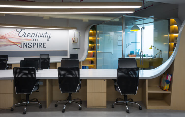 """inspirational wall graphics Office Creative Designer Architects indiaartndesign"""