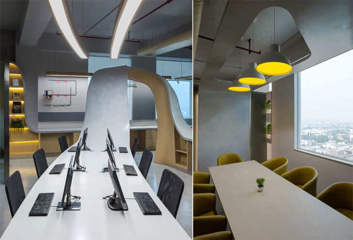 """organic worktable Office Creative Designer Architects indiaartndesign"""