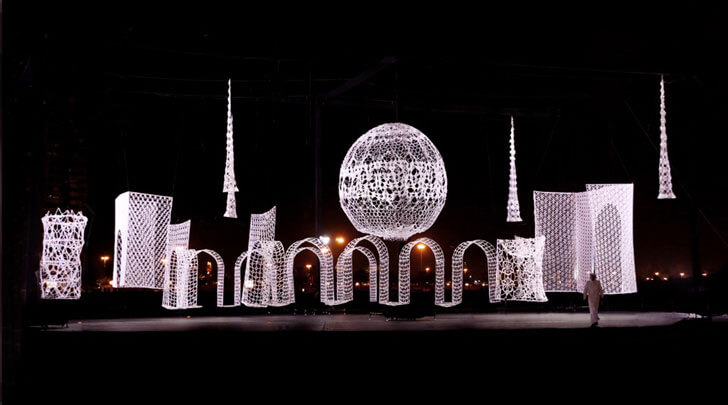 """flying mosque elevation choi n shine indiaartndesign"""