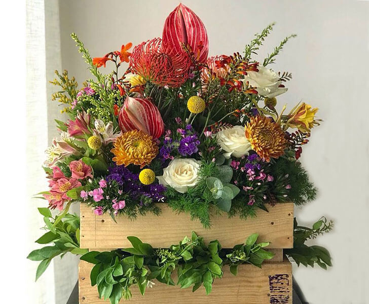 """Flower arrangements rustic touch Botany indiaartndesign"""