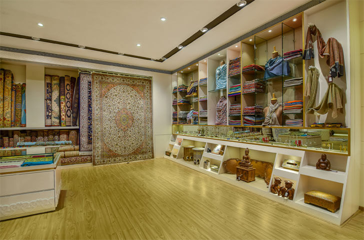 """Khazir Retail merchandise display studio TAB indiaartndesign"""