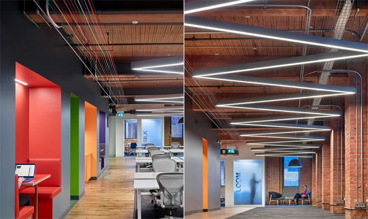 """Slack office old n new Dubbeldam Architecture+Design indiaartndesign"""