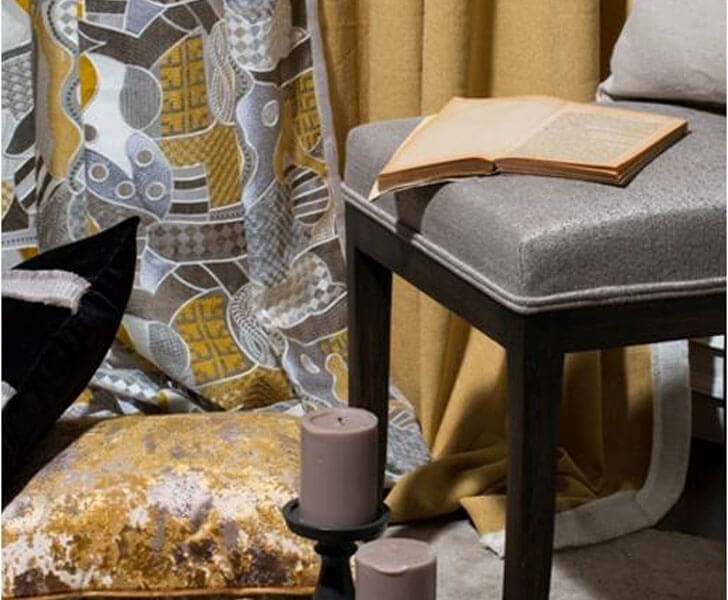 """Ochre yellow trend for 2018 Pride Furnishings indiaartndesign"""