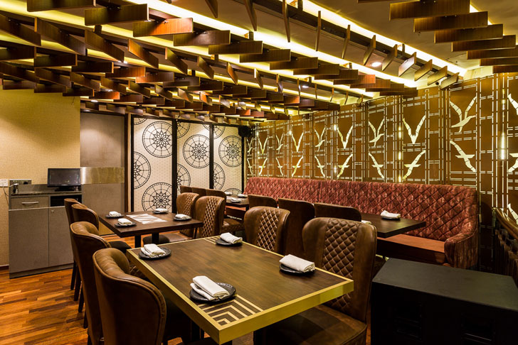 """lower level farzi cafe mumbai sumessh menon indiaartndesign"""