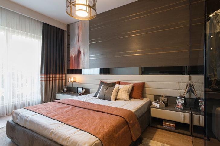 """master bedroom nidapark Gonye Proje Tasarim indiaartndesign"""