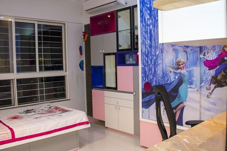 """children bedroom parag ainchwar cluster one indiaartndesign"""