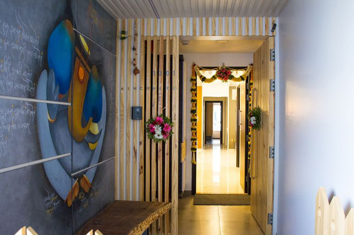 """entrance way parag ainchwar cluster one indiaartndesign"""