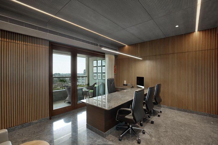 """""""executive cabin MKP office Dipen Gada associates indiaartndesign"""""""