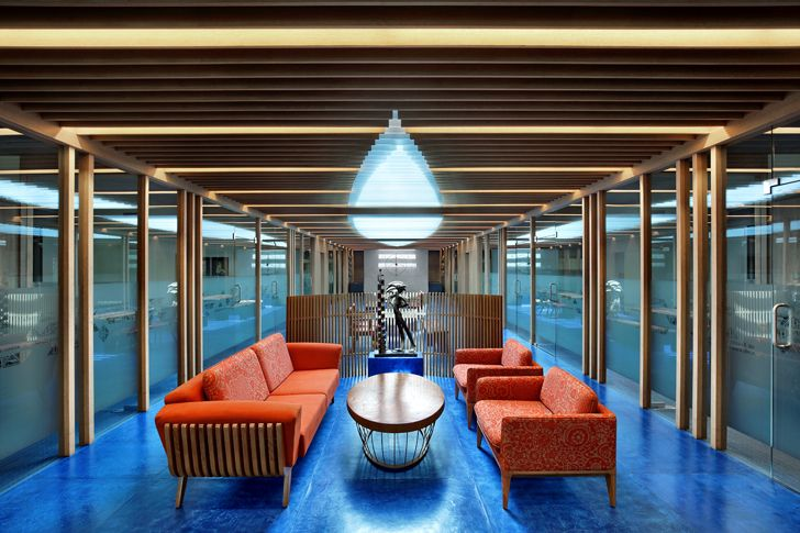 """lounge area MKP office Dipen Gada associates indiaartndesign"""