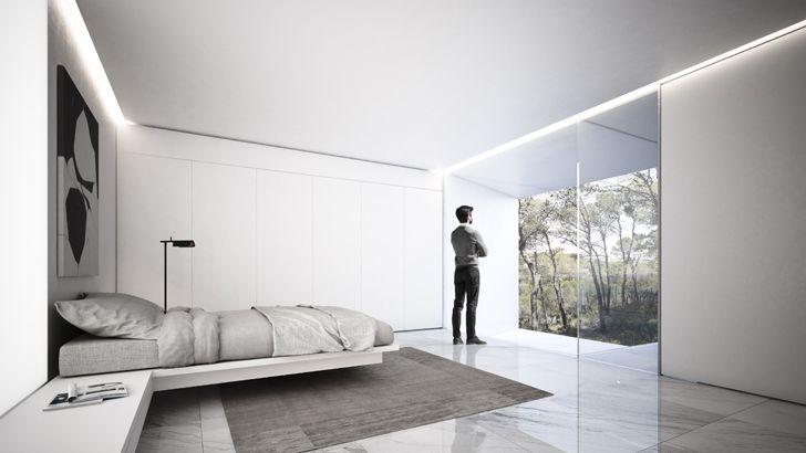 """bedroom fran silvestre arquitectos fababu house indiaartndesign"""
