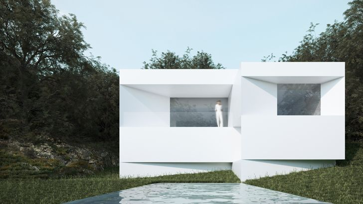 """private pool fran silvestre arquitectos fababu house indiaartndesign"""