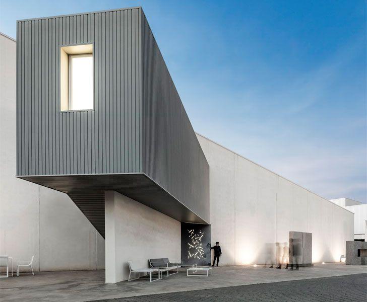 """sculptural building extension Fran Silvestre Arquitectos studio indiaartndesign"""