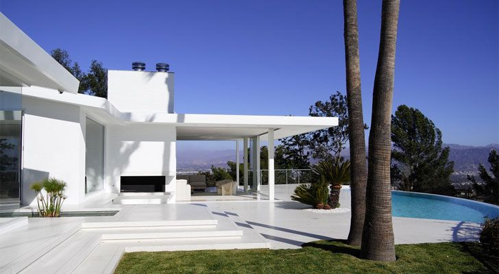 """home along mulholland drive heusch architects indiaartndesign"""