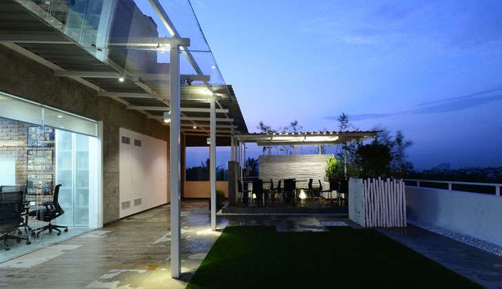"""terrace harish lakhani architects indiaartndesign"""