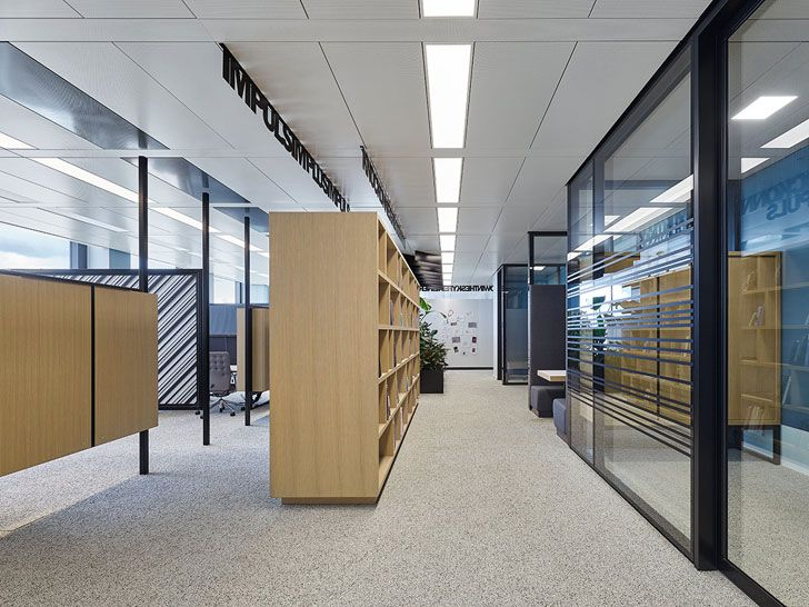 """open plan NN office Ippolito Fleitz Group indiaartndesign"""