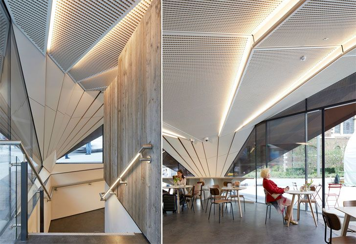 """interiors Portsoken Pavilion Make Architects Indiaartndesign"""