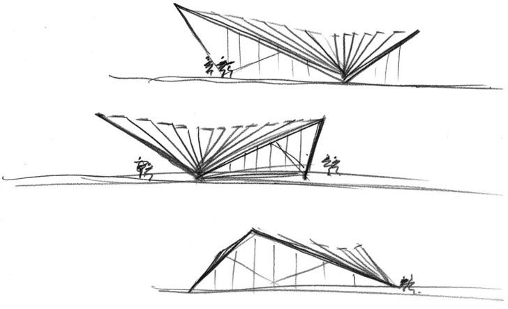 """plan Portsoken Pavilion Make Architects Indiaartndesign"""