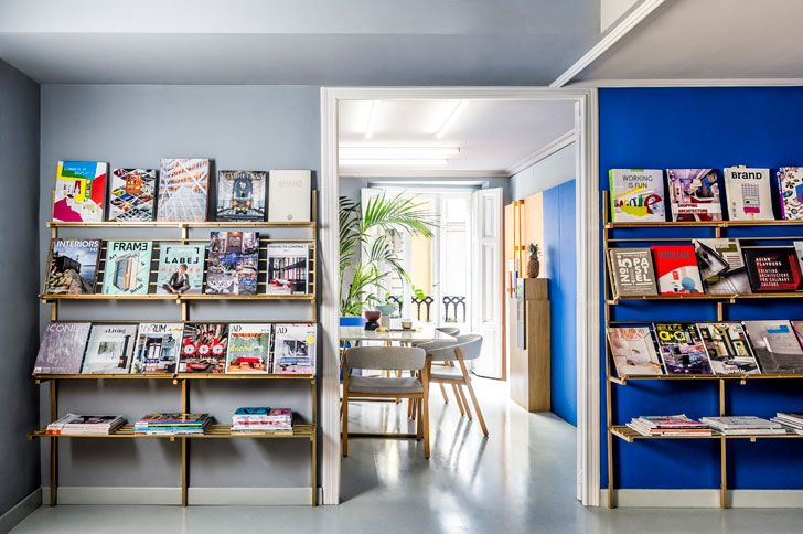 """bookshelves office masquespacio indiaartndesign"""