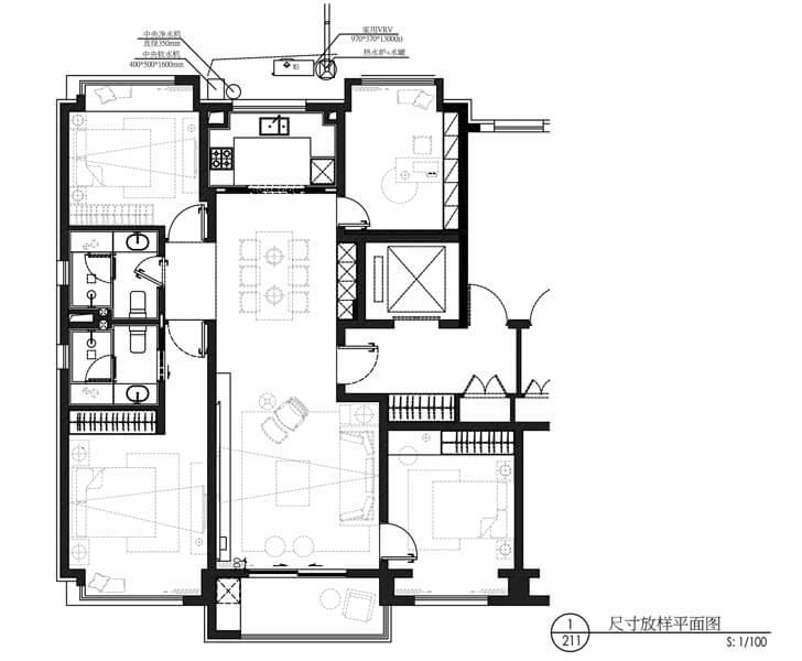 floor plan Shanghai Qianxun Design indiaartndesign
