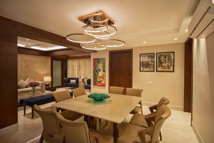 """dining area rupande shah and associates indiaartndesign"""