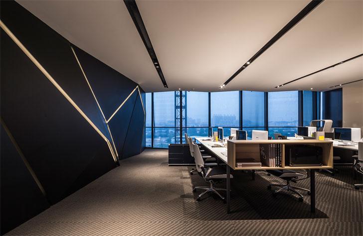 """poly yuzhu office GD lighting design indiaartnesign"""