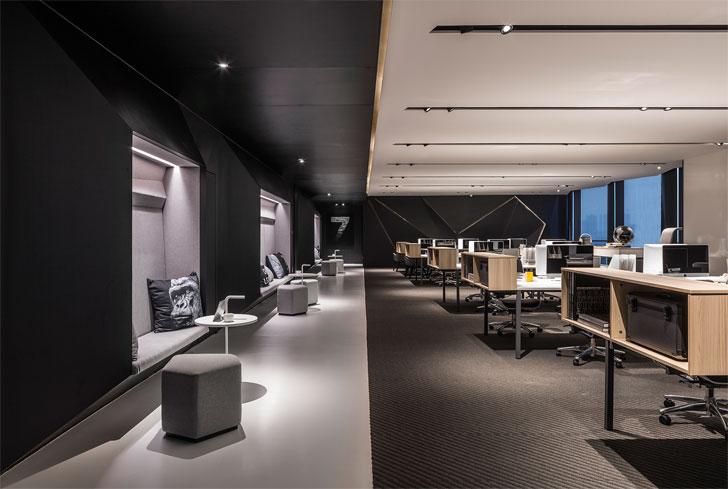 """""""walkway poly yuzhu office GD lighting design indiaartnesign"""""""