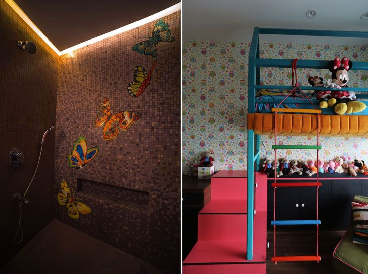"""children bedroom residential design kavan shah indiaartndesign"""