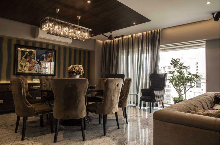 """""""dining room residential design kavan shah indiaartndesign"""""""