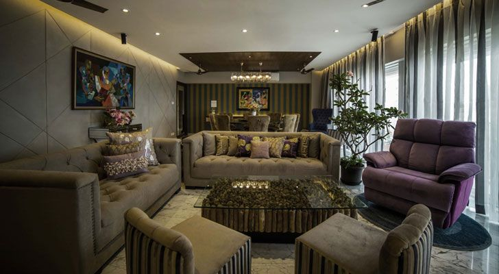"""living room residential design kavan shah indiaartndesign"""