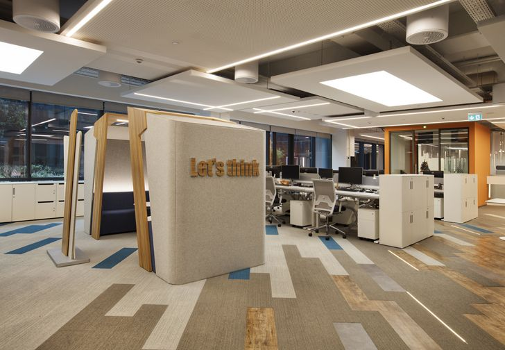 """ideation zone mimari studio basf turk office indiaartndesign"""