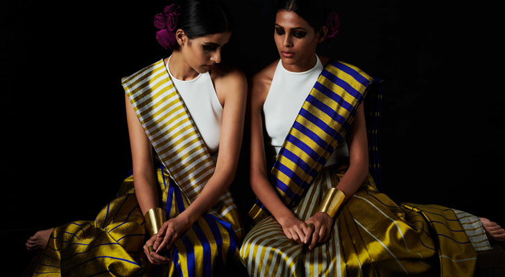 """the reversible saree payal khandwala gemini collection indiaartndesign"""