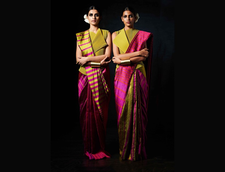 """versatile reversible saree payal khandwala gemini collection indiaartndesign"""