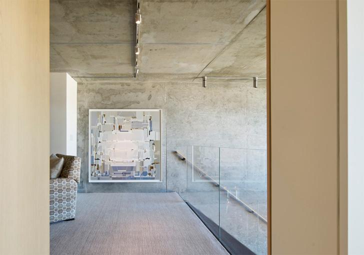 """exposed concrete soma loft residence studio vara indiaartndesign"""