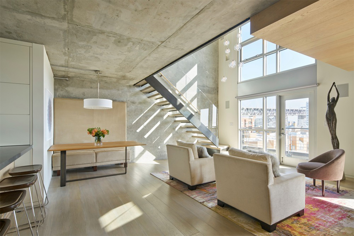 """open plan soma loft residence studio vara indiaartndesign"""