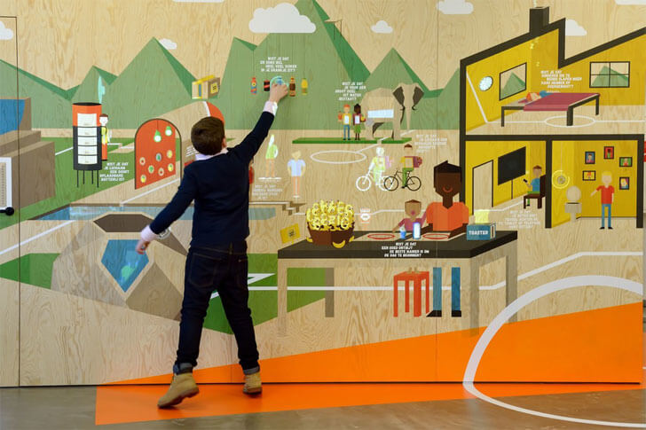 """main interactive wall COACH Tinker imagineers indiaartndesign"""
