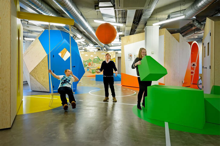 """playful interactive centre COACH Tinker imagineers indiaartndesign"""