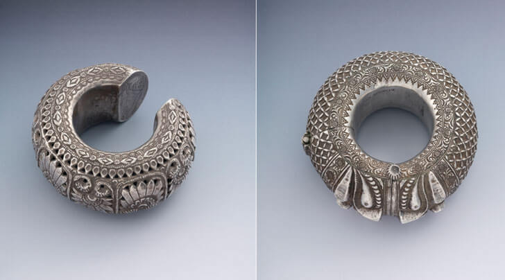 """silver anklets heritage amrapali museum indiaartndesign"""