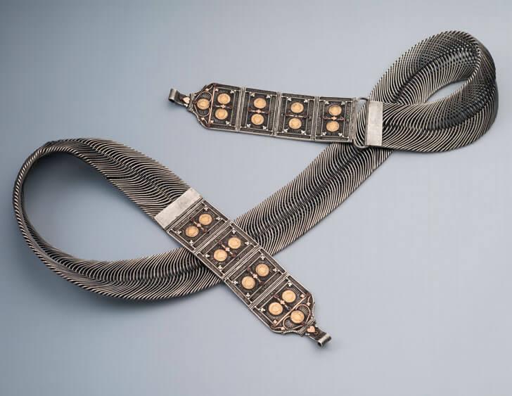 """waistband araipatta heritage amrapali museum indiaartndesign"""