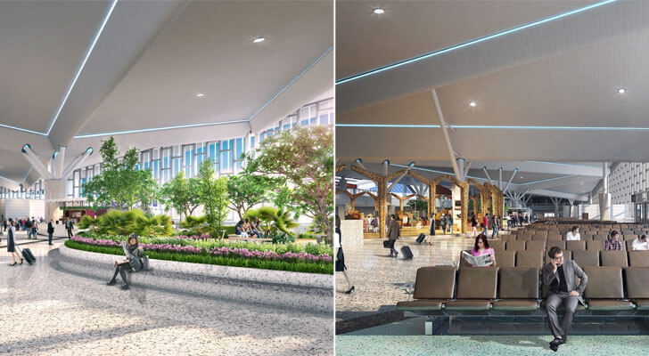 """crafts village Guwahati airport DFI Architects indiaartndesign"""