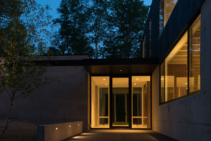 """entrance camp minoh lake michigan architect william kaven indiaartndesign"""