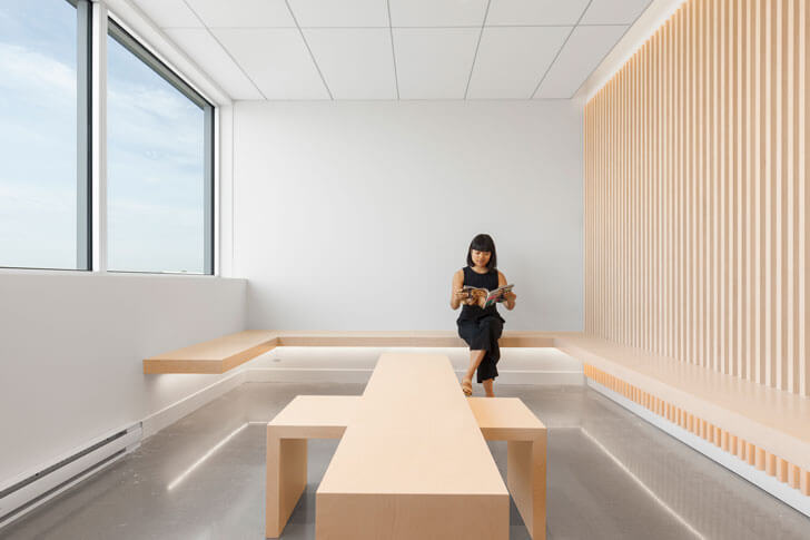 """""waiting area Go Orthodontistes Brossard Clinic Natasha Thorpe indiaartndesign"""