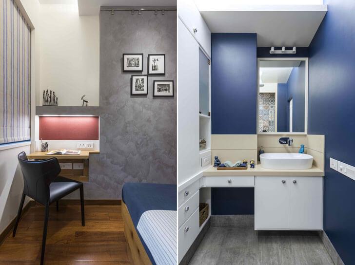 """""""kids room and bathroom Puran kumar architects indiaartndesign"""""""