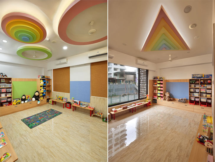 """colourful ceiling patterns witty world spirit architects designers indiaartndesign"""