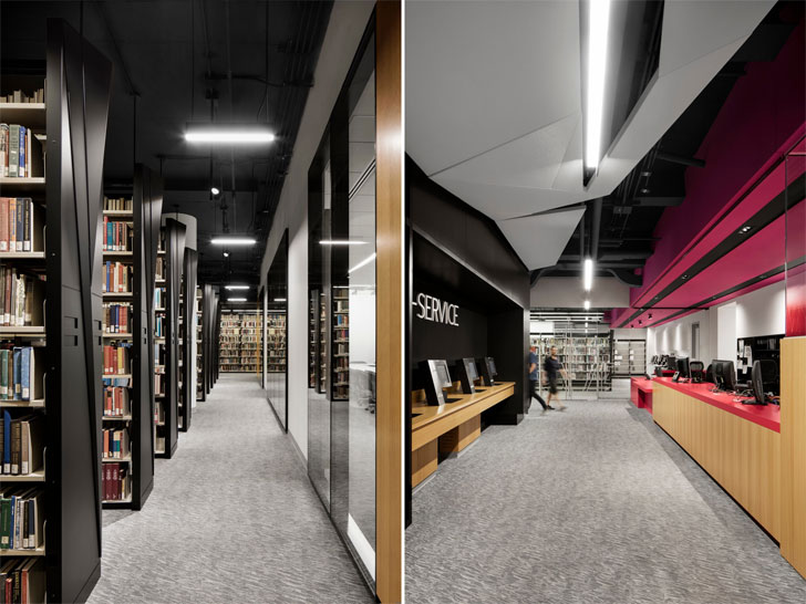 """aisles webster library MSDL architects indiaartndesign"""