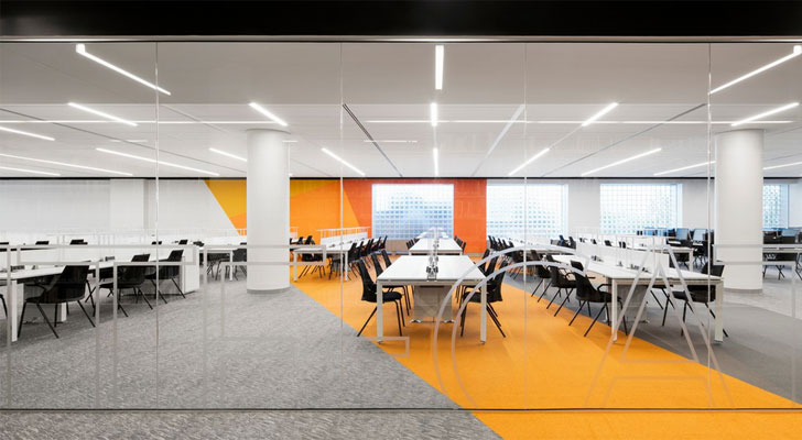 """colour adds vibrancy webster library MSDL architects indiaartndesign"""