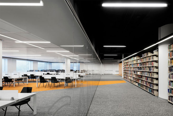 """zones webster library MSDL architects indiaartndesign"""