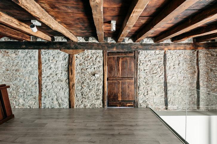 """stone walls Goizko House Bilbao architecture indiaartndesign"""