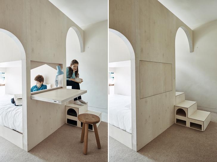 """""""Studio Ben Allen foldaway desk indiaartndesign"""""""